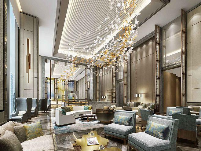 Upscale hotel interior design | Interscap ...