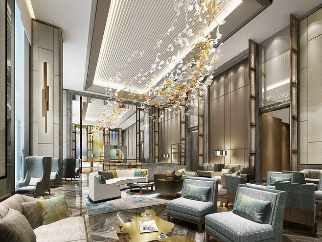 Upscale Hotel Interior Design Interscap Hotel