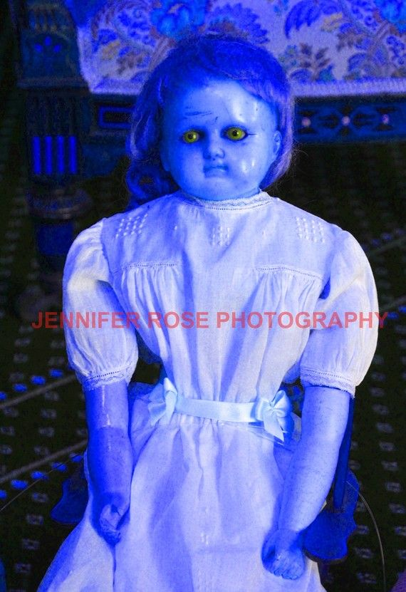 Scary Possessed-Looking Doll Photo Print