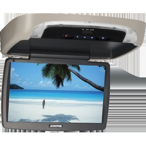 VOD10A - 10.1 inch widescreen LED backlit monitor / DVD player with built-in dome lights monitor with built-in DVD player