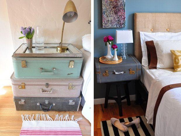Oltre 25 idee originali per vecchie valigie su pinterest - Idee originali arredamento ...
