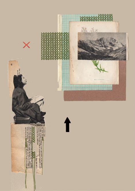 Rhed Fawell - 'Sightline' - Collage 2016