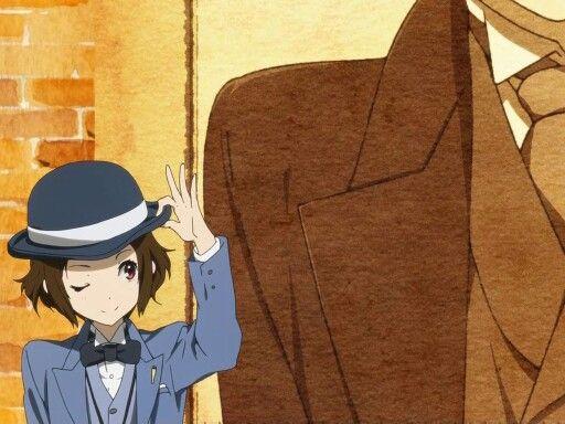 Ibara & Fukube ♡☜⊙▽⊙  #anime #hyouka