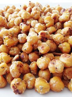 I was turned on to roasting chickpeas several years back when seeking out healthier snack alternatives. Roasted garbanzo beans are seriously so easy to do that my four year old could almost pull it off all on her own. Well, almost. Plus, they taste absolutely amazing! If you are a fan of hummus or chickpeas in general, then you will love toasted garbazo beans. I've been on a bit of a chickpea kick lately, if you hadn't noticed already. So... I thought what better time than now to roast ...