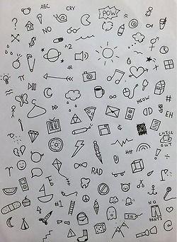 tattoo doodle stick and poke stick n poke snp