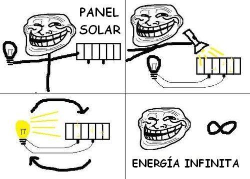 Trollscience - Energía infinita