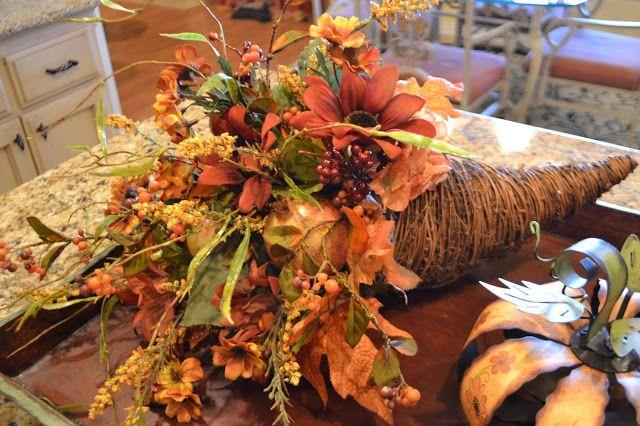 Images about cornucopia floral ideas on pinterest