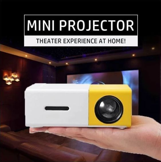 50% OFF + FREE SHIPPING 😍Home Theater Mini Projector