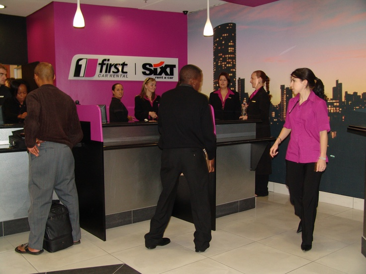 First Car Rental at OR Tambo International Airport