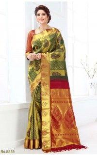 The Chennai Silks -Vivaha Wedding Pure Silk Saree - VSS5235