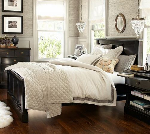 34 Neutral Bedrooms With Dark Furniture Color Combos Tips