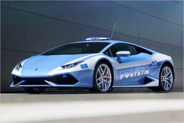Полицейские машины мира: Италия