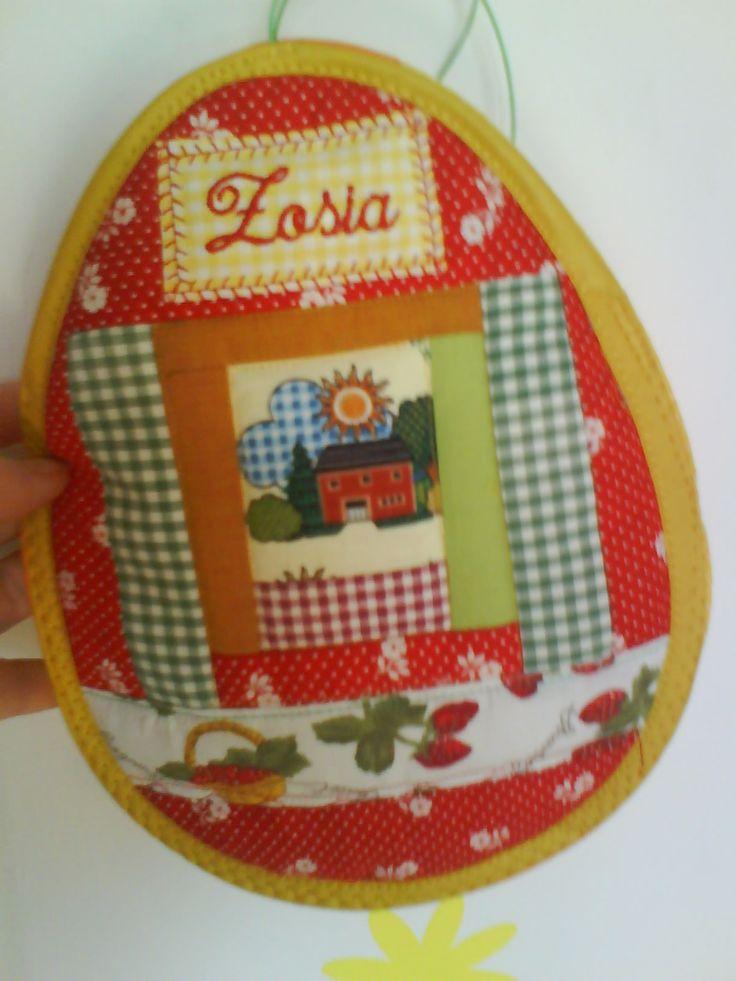 patchwork - kieszonka na  słodycze