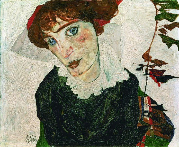 1912 Portrait of Wally Neuzil; Egon Schiele