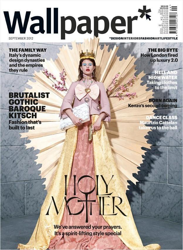 Wallpaper Magazine - Wallpaper September 2012 Cover