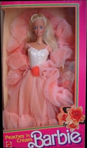 Peaches and cream barbie dress up fashion