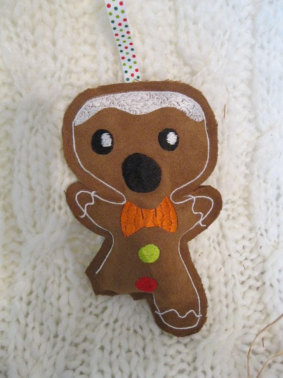 CLEARANCE Sale on Big Bite Gingerbread Dude by BrambleWoodANDivy