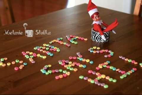 Elf on the Shelf Ideas - 3