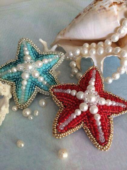 Beaded starfish