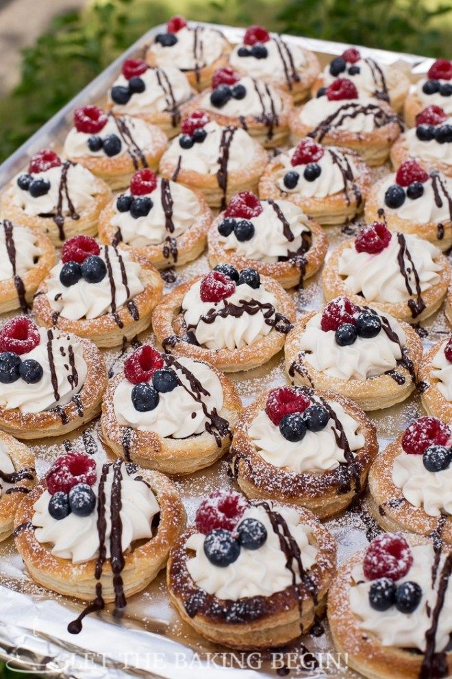 Photo of Wow your guests with these easy to make, but oh so impressive pastries! Don't be…