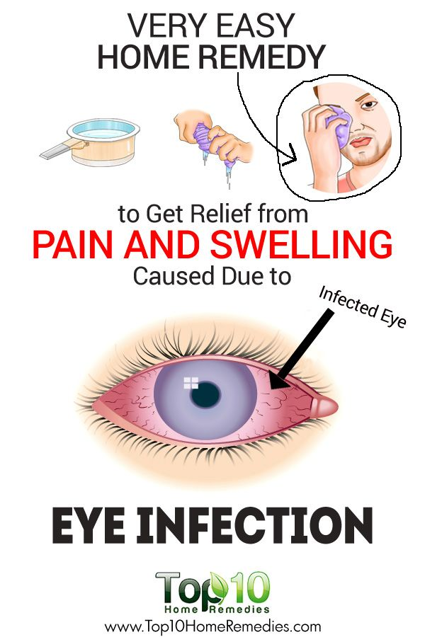 Very Easy Home Remedy to Get Relief from Pain and Swelling Caused Due to Eye Infection!