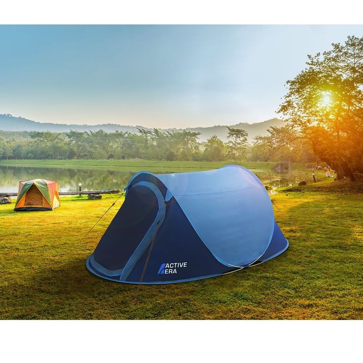 Camping Tent 2 Person Instant Pop Up Hiking Outdoor Waterproof Backpacking NEW #na #WaterproofDomeTent