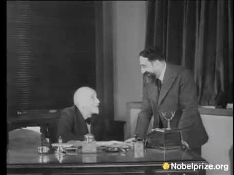 Luigi Pirandello - Video rarissimo - Intervista in francese sul Premio Nobel appena assegnato