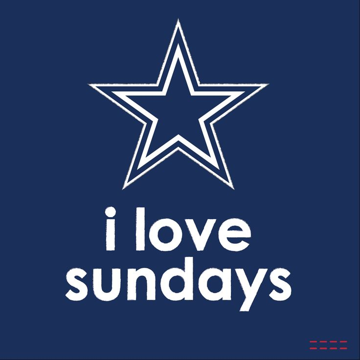 I love Sundays Dallas Cowboys