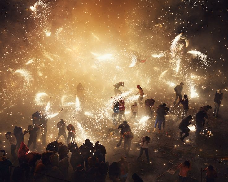 Thomas Prior's photographs from the National Pyrotechnic Festival in Tultepec