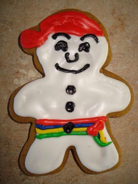 Biscuit Bonhomme Carnaval de Qc