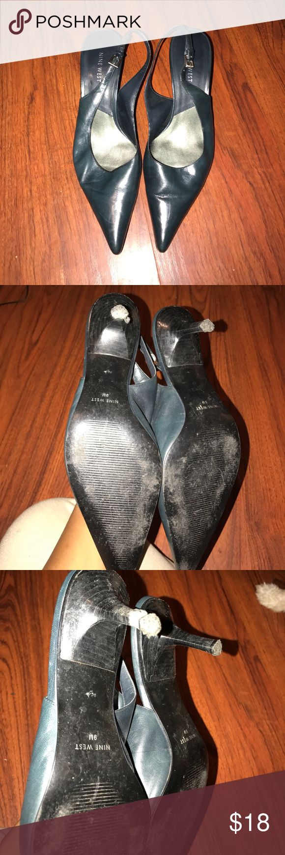 Nine West Heels Black mine west heels Nine West Shoes Heels