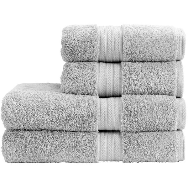Christy Renaissance Towel - Dove Grey - Bath Towel ($32) ❤ liked on Polyvore featuring home, bed & bath, bath, bath towels, grey, gray bath towels, grey striped bath towels, striped bath towels, grey bath towels and stripe bath towels
