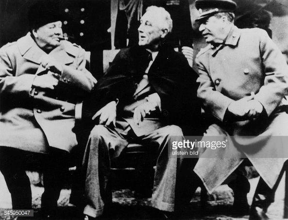 Jalta WK II : News Photos