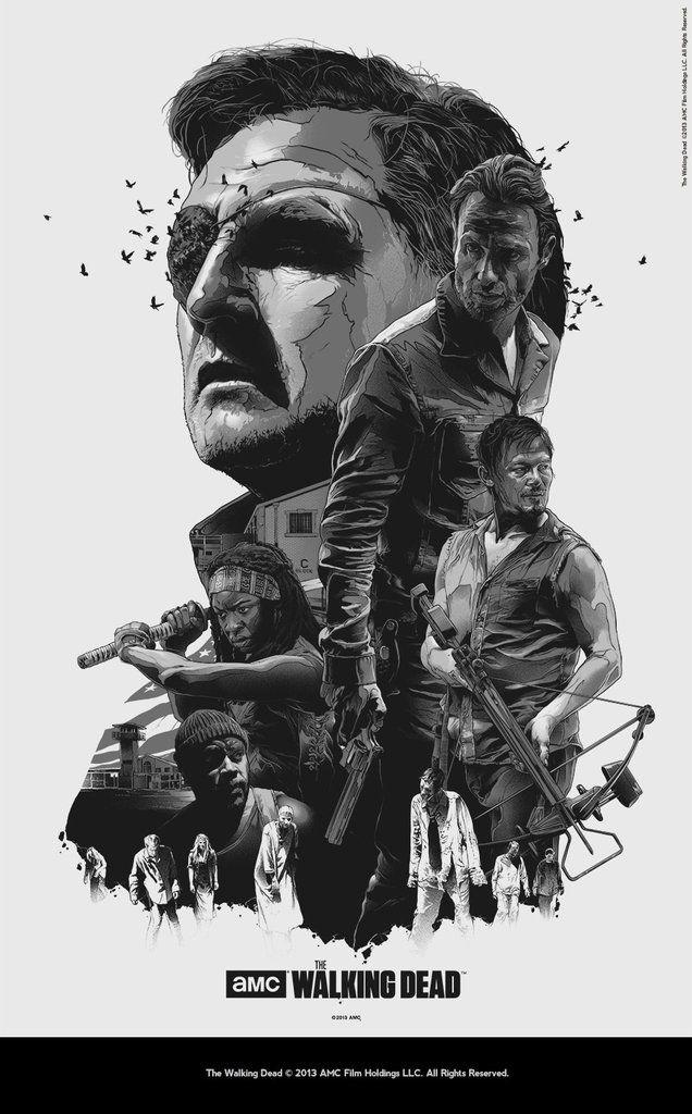 """The Walking Dead"" Variant by Grzegorz Domaradzki / Gabz"