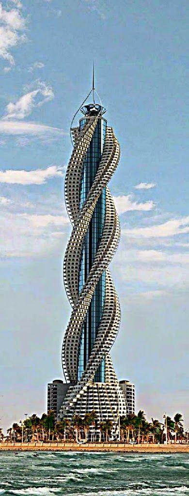 """Алмазная Башня"", Джидда, Саудовская Аравия Diamond Tower, Jeddah, Saudi Arabia"