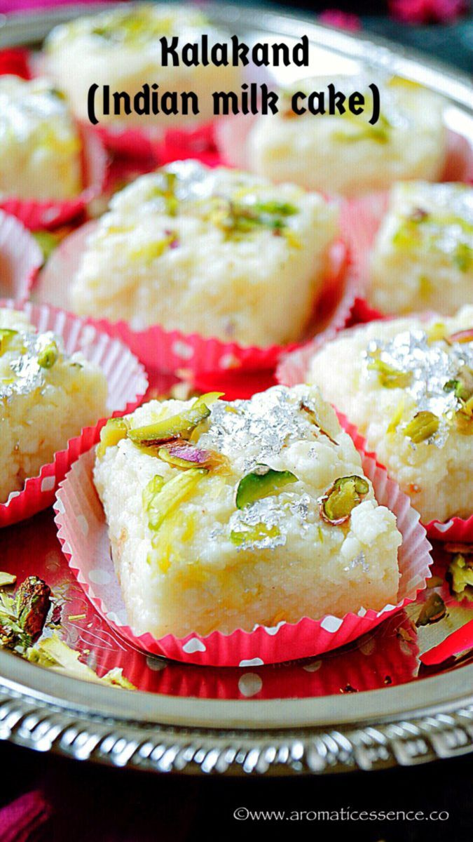 Kalakand Recipe With Step By Step Pictures Using Fresh Homemade Paneer How To Make Moist Kalakand Swe Kalakand Recipe Milk Cake Recipe Indian Milk Cake Indian