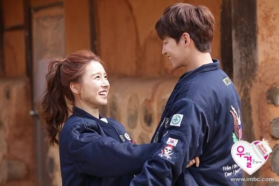 Song Jae Rim Shows Off His Bare Thighs in Front of Kim So Eun