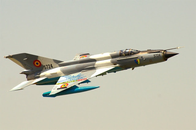 MIG 21 - Romanian Air Force