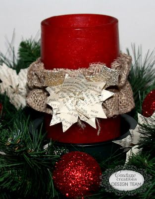 kerrie gurney [it's all about ME]: Christmas Centrepiece and Bon Bons  | #couturecreations #magicalchristmas #decorativedies #Christmas #tablecentrepiece #christmasdecorating