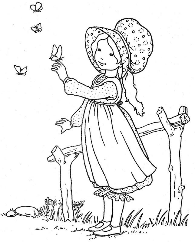 coloring pages holly hobbie - photo#27