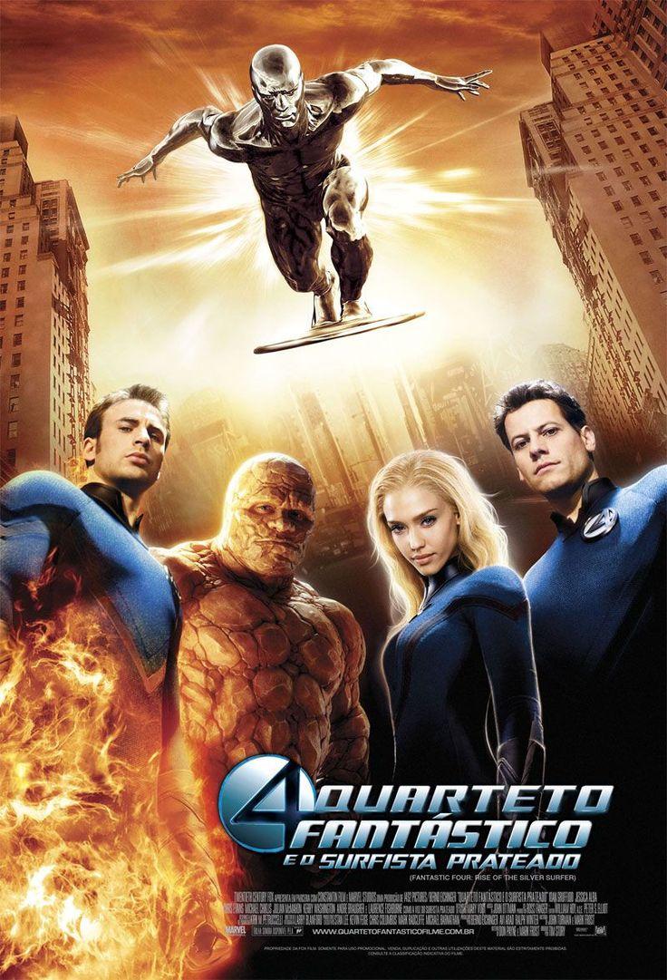 Quarteto Fantástico e o Surfista Prateado (4: Rise of the Silver Surfer), 2007.