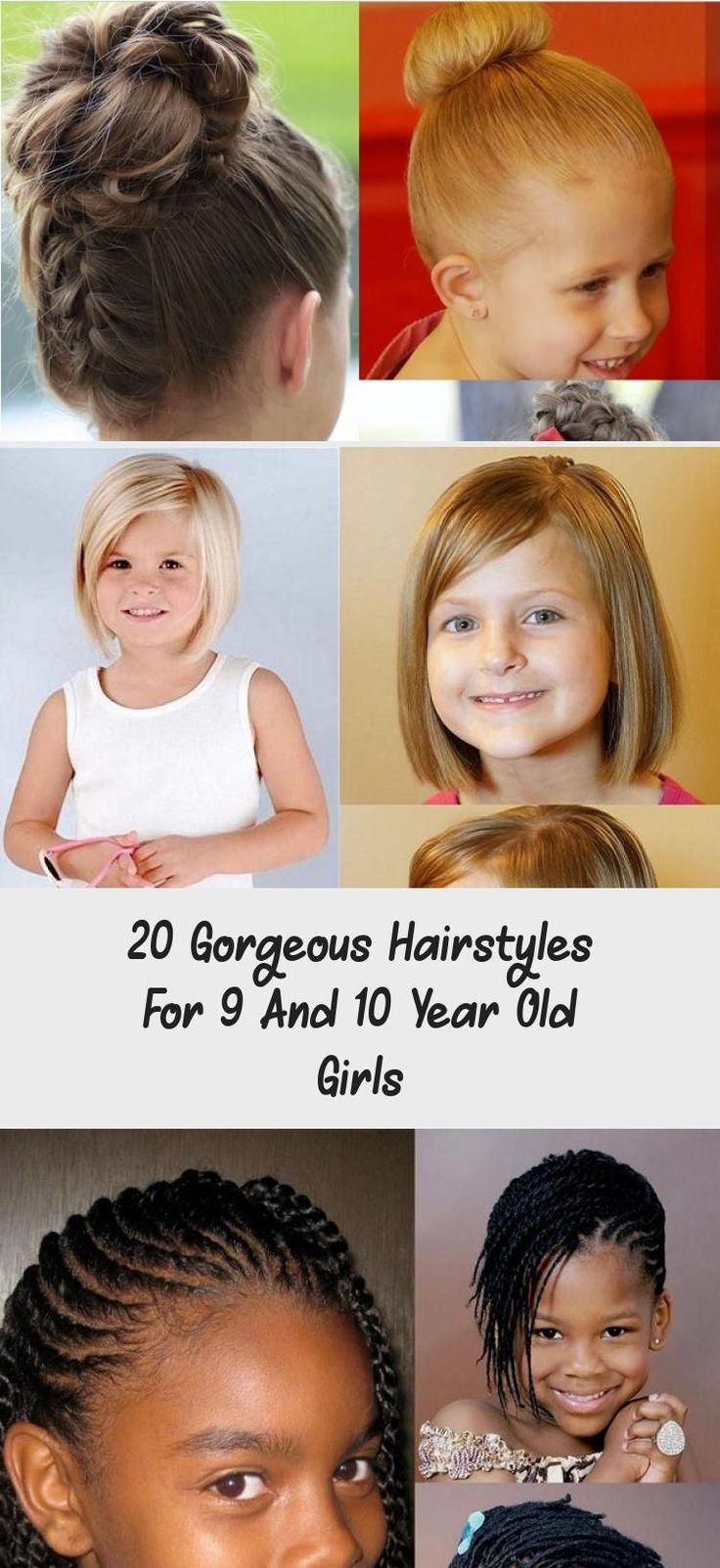 20 Gorgeous Hairstyles for 9 And 10 Year Old Girls - Child Insider #EverydayHairstyles ...