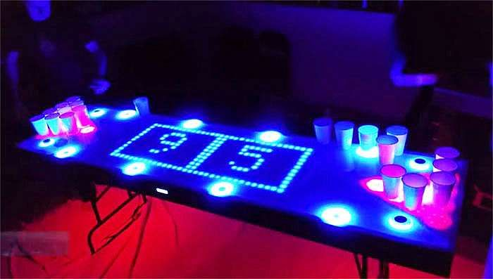 The ultimate beer pong table! http://beerponglife.com/awesome-beer-pong-tables/