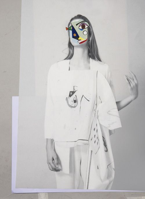 Fashion Sketchbook - fashion collage; creative fashion portfolio inspiration // Ernesto Artillo