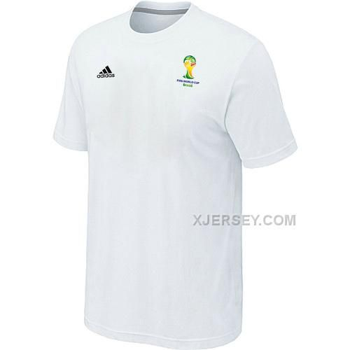 http://www.xjersey.com/adidas-2014-fifa-world-cup-men-tshirt-white.html ADIDAS 2014 FIFA WORLD CUP MEN T-SHIRT WHITE Only $27.00 , Free Shipping!