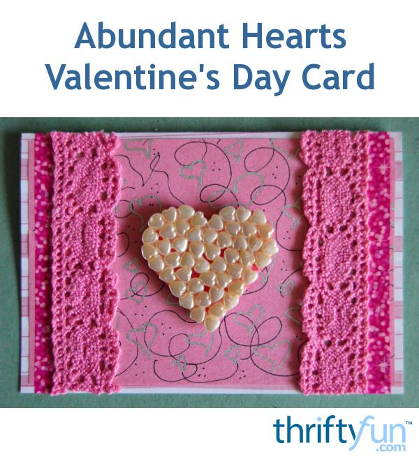 Make a heart-filled DIY Valentine's Day card  to tell your Cupid just how much you love him.