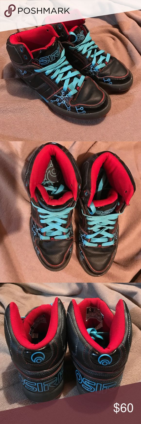 Tron Legacy Osiris Shoes (limited edition) Size 12 - only worn a few days - almost perfect condition Osiris Shoes Sneakers