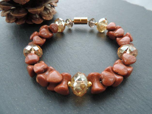 Weiteres - Goldfluss Armband - ein Designerstück von Guggarella bei DaWanda