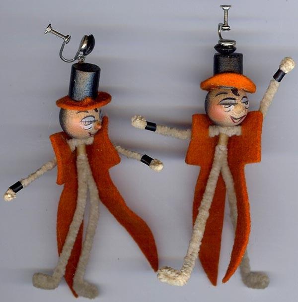 1930s drunken hobo earrings...WANT!