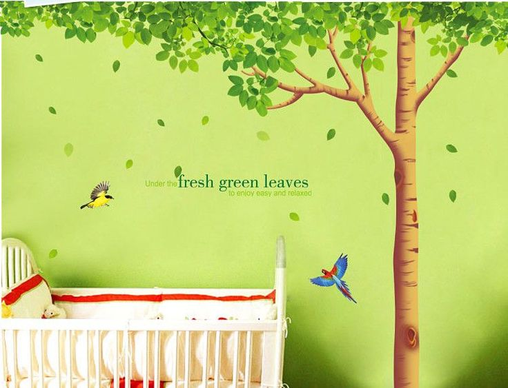 Tree Nature Wall Decals Can Be Applied To Any Clean, Smooth And Flat  Surface. Part 51